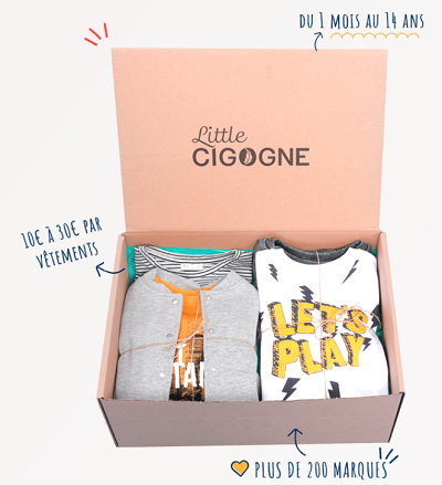 little cigogne box look bébé